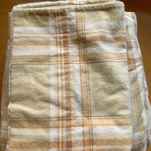 Martha Stewart Bedding Plaid Twin Flannel Sheets Poshmark